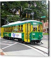 Charlotte Streetcar Line 3 Acrylic Print