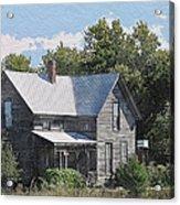 Charming Country Home Acrylic Print