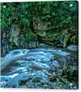 Charming Creek Walkway 1 Acrylic Print