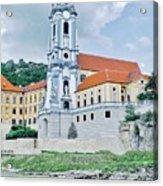 Charming Durnstein on the Danube Acrylic Print