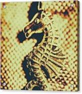 Charming Vintage Seahorse Acrylic Print