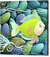 Chartreuse Acrylic Print