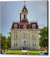 Chase Co Courthouse Acrylic Print