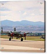 Chase Plane Acrylic Print