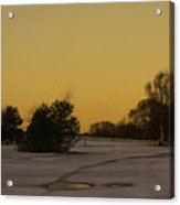 Chasewater Evening Acrylic Print