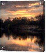 Chasewater Sunrise Acrylic Print