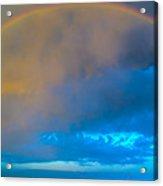 Chasing Nebraska Lightning 006 Acrylic Print