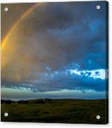 Chasing Nebraska Lightning 009 Acrylic Print