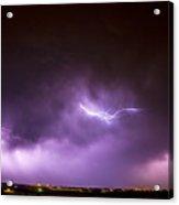 Chasing Nebraska Lightning 041 Acrylic Print
