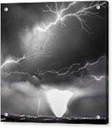 Chasing Nebraska Lightning 052 Acrylic Print