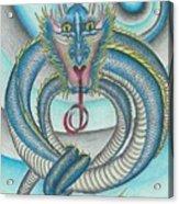 Chasing The Dragon Acrylic Print