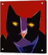 Chat Noir Acrylic Print