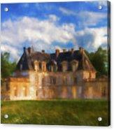 Chateau D'acquigny  Acrylic Print