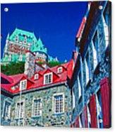 Chateau Frontenac Acrylic Print