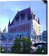 Chateau Frontenac, Montreal Acrylic Print