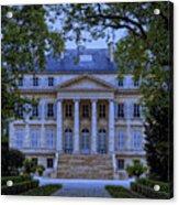 Chateau Margaux Acrylic Print