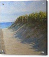 Chatham Beachwalk Acrylic Print