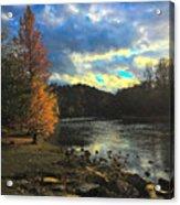 Chattahoochee Fall Acrylic Print