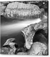 Chattooga River Bw1 Acrylic Print