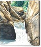 Chau-ram Acrylic Print by Lane Owen