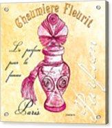 Chaumiere Fleurit Acrylic Print