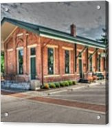 Glendale,ohio Train Depot Acrylic Print
