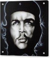 Che Guevara Acrylic Print by Stephen Sookoo
