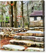 Cheaha State Park In The Fall Acrylic Print