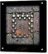Checker Sv Acrylic Print