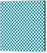 Checkerboard Acrylic Print