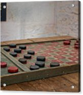 Checkered Past - Checkers Acrylic Print