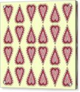 Checkered Acrylic Print