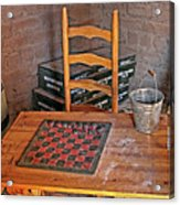 Checkers Anyone Acrylic Print