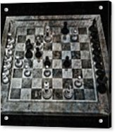 Checkmate In One Move Acrylic Print