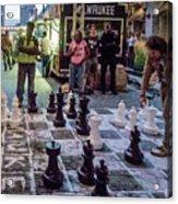 Checkmate Acrylic Print