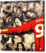 Cheer For Dusseldorf Acrylic Print