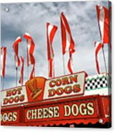 Cheese Dogs Galore Acrylic Print