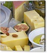 Cheese Plate Acrylic Print
