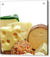 Cheese Slices Acrylic Print