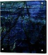 Cheetah Blue Acrylic Print