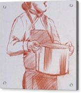 Chef 6 Acrylic Print