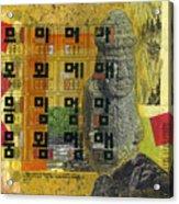 Cheju Grandfather Acrylic Print