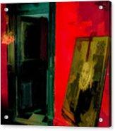 Chelsea Hotel Abstract Acrylic Print