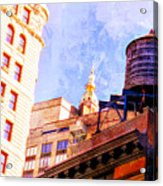 Chelsea Water Tower Acrylic Print