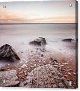 Chemical Beach Tide Acrylic Print