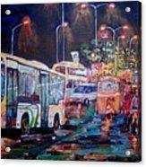Chennai Traffic Acrylic Print