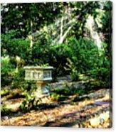 Cherie's Garden Acrylic Print