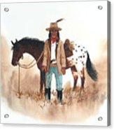 Cherokee Lighthorse Acrylic Print