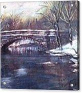 Cherokee Park Bridge Acrylic Print
