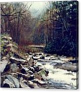 Cherokee Stream Acrylic Print